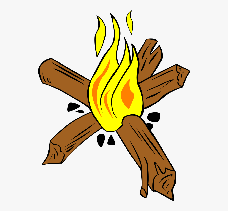 Star Fire For Camping, Transparent Clipart