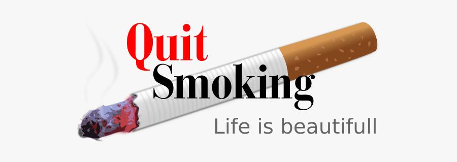 Quit Smoking Vector Illustration - Quit Smoking Clip Art, Transparent Clipart