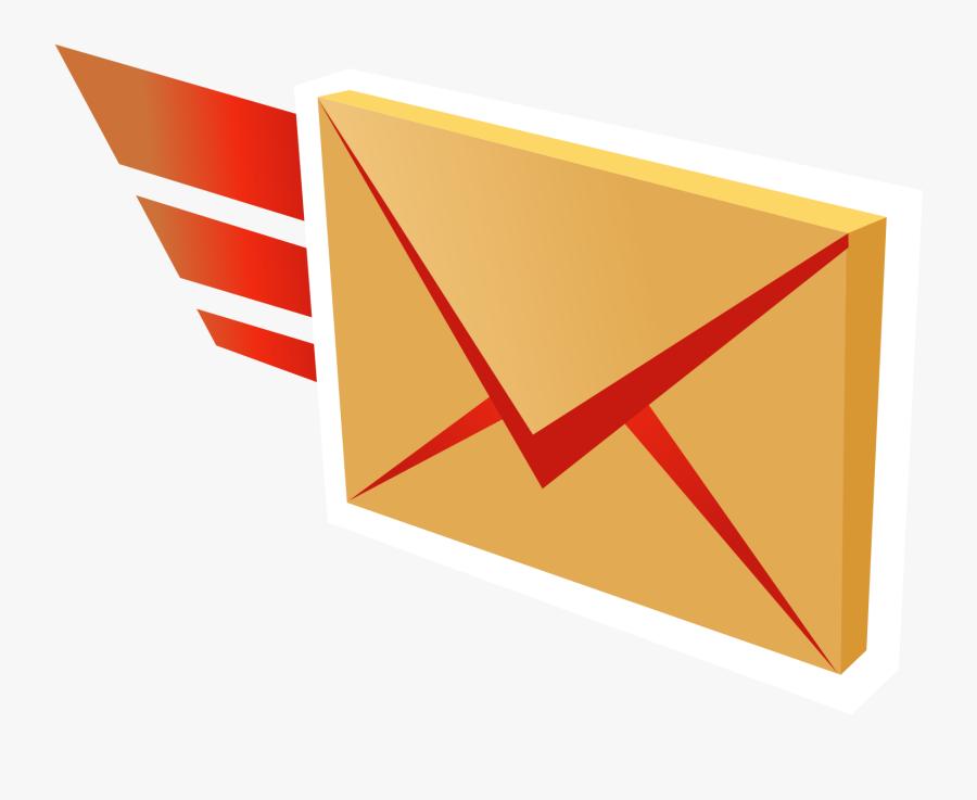 Clip Art Mail Svg - Sending Mail Clipart, Transparent Clipart