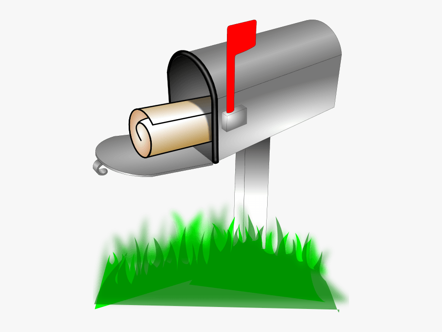 Clip Art Mailbox Front Clipart - Animated Mailbox, Transparent Clipart