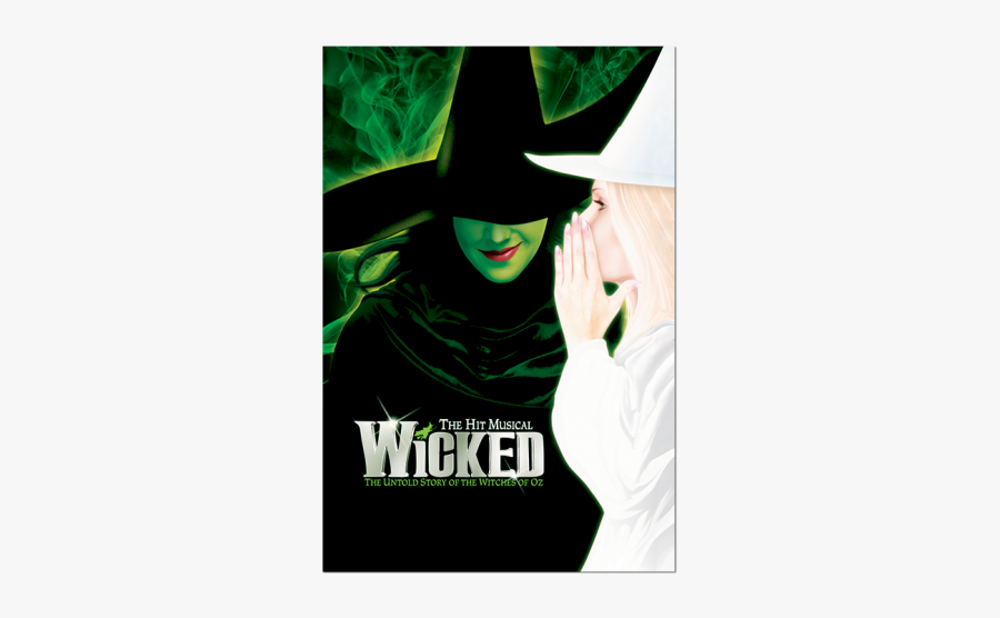 Wicked Witch Of The West The Wonderful Wizard Of Oz - Wicked The Musical, Transparent Clipart