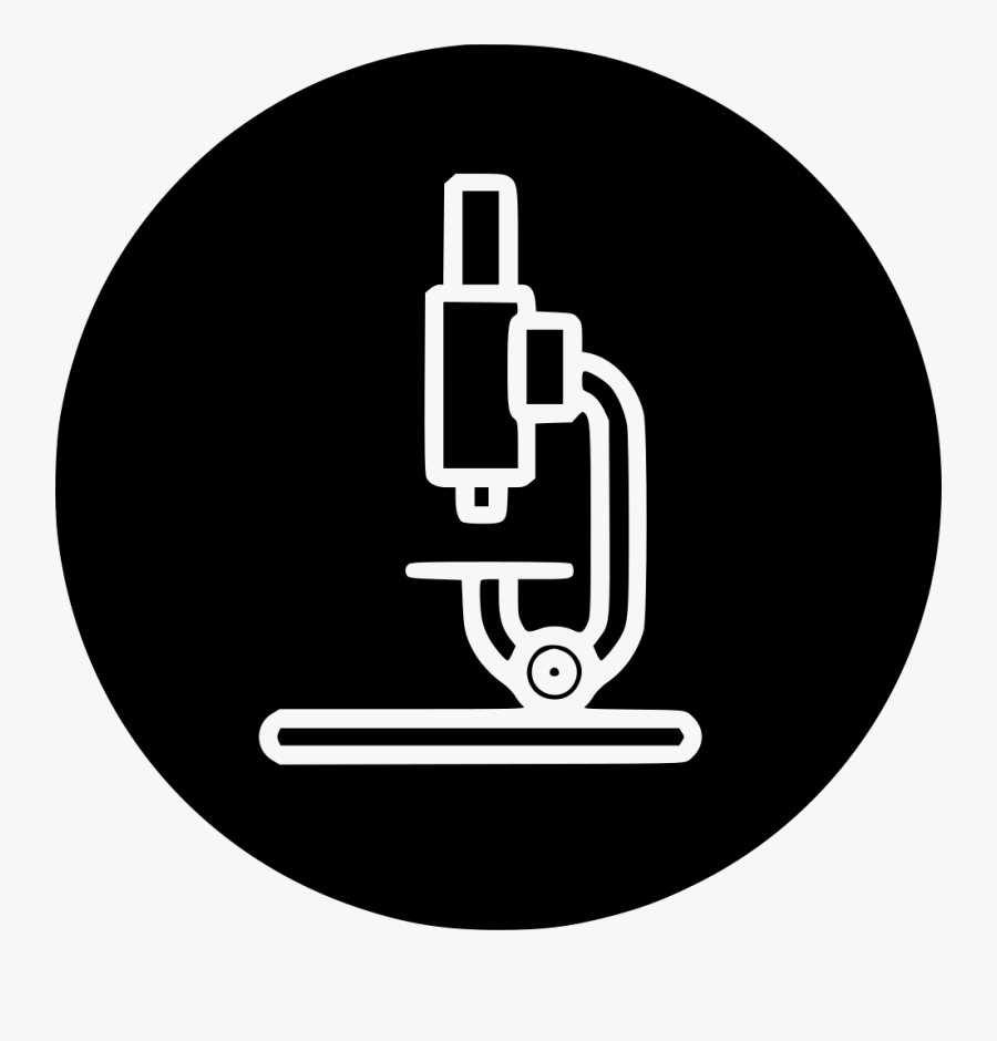 Microscope Clipart Science Tool - Lab Device Png Icon, Transparent Clipart