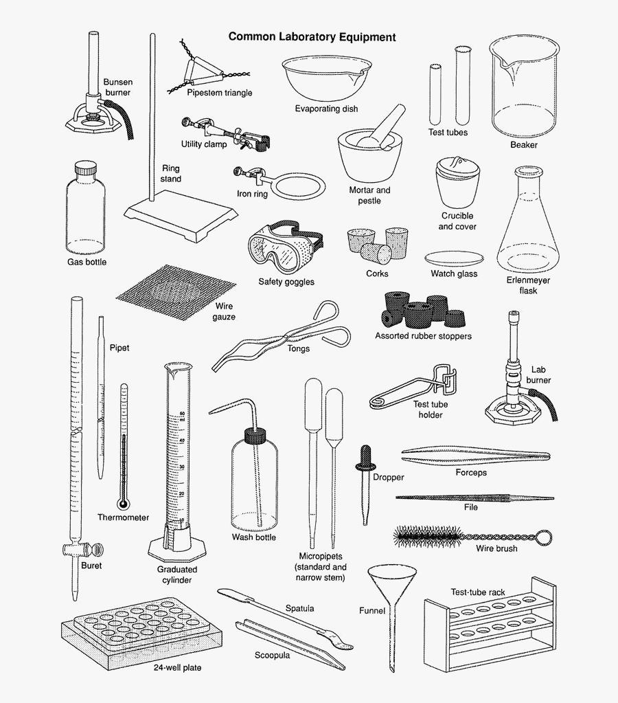 Science Equipments Transparent Image - Science Lab Equipment, Transparent Clipart
