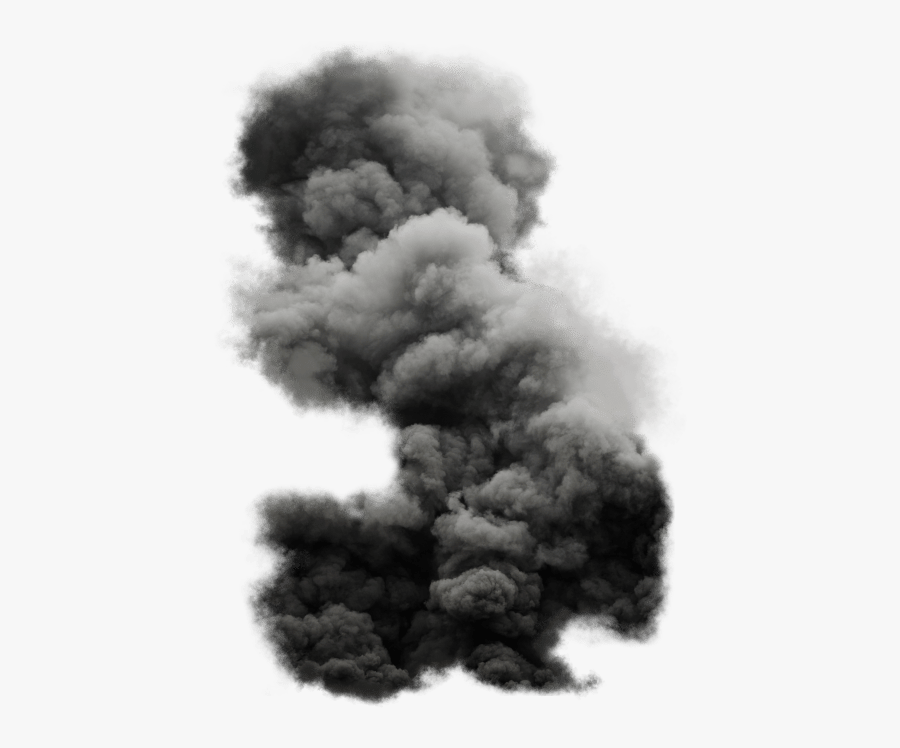 Black Cloud Free Images - Black Smoke Png, Transparent Clipart