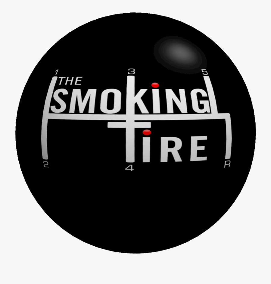 Transparent Tire Clipart Black And White - Smoking Tire Podcast, Transparent Clipart