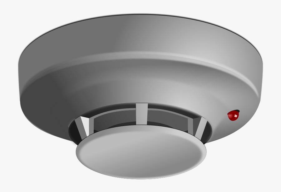 Transparent Detective Clip Art - Smoke Detector Png, Transparent Clipart