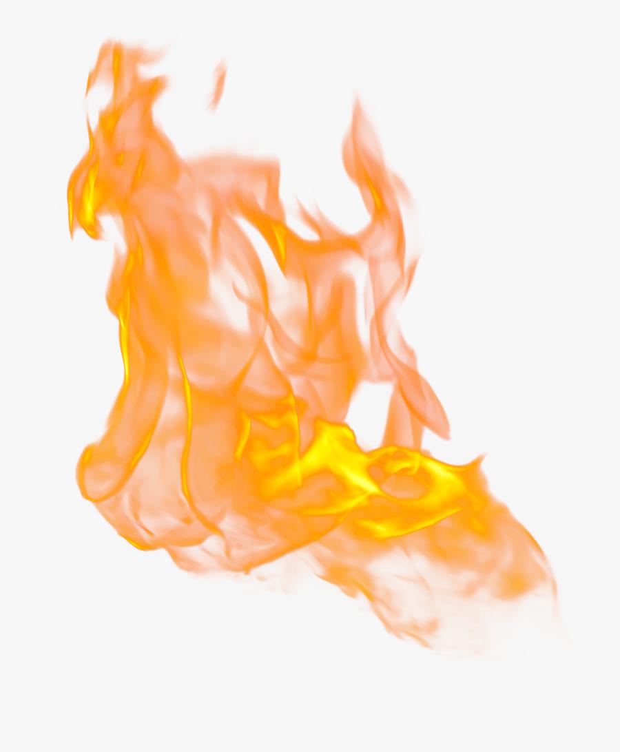 Light Flame Fire System - Realistic Fire Transparent Background, Transparent Clipart