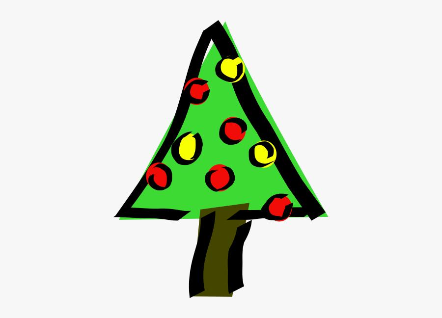 Free Stock Photos - Tiny Small Christmas Tree Clip Art, Transparent Clipart