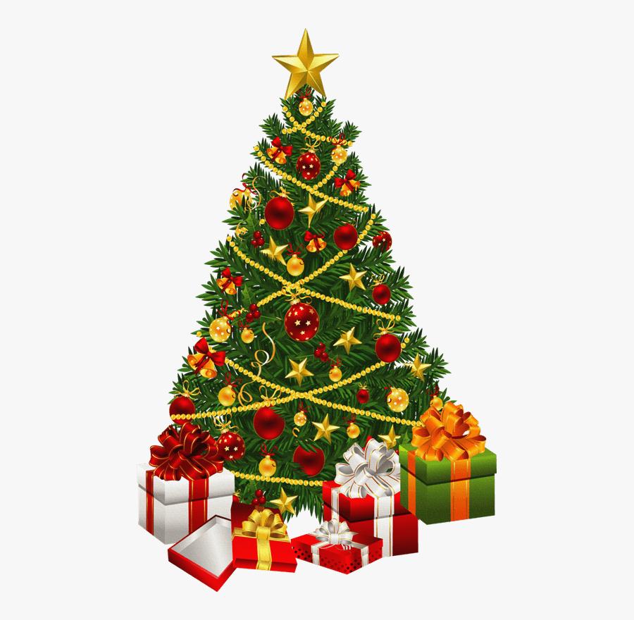 Christmas Tree Clip Art - Christmas Tree Clipart, Transparent Clipart