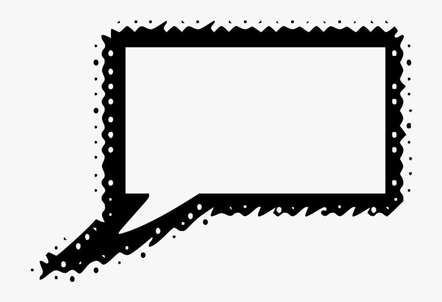 Speech 14 - Comic Book Speech Bubble Png, Transparent Clipart