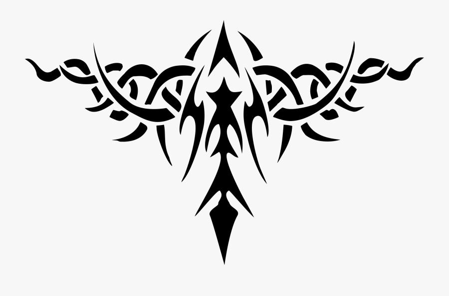 Tattoo Clip Art - Tribal Tattoo Design Png, Transparent Clipart