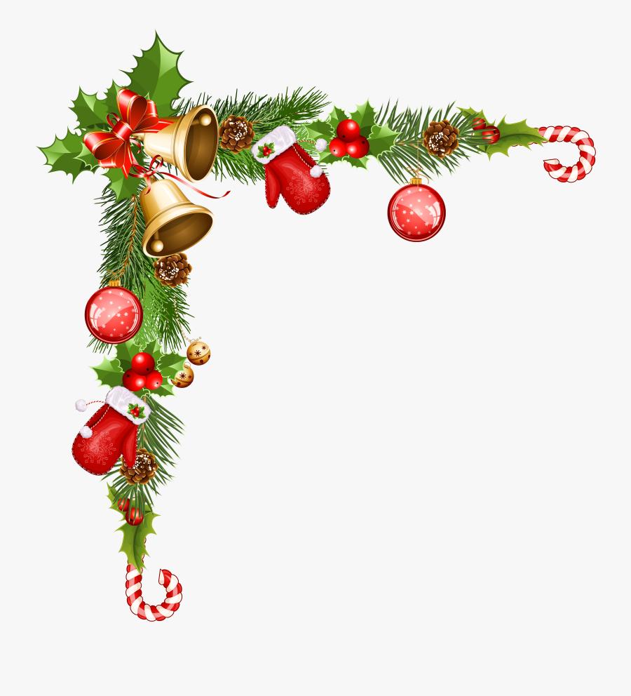 Transparent Christmas Decorative Ornaments Clipart - Transparent Christmas Border Png, Transparent Clipart