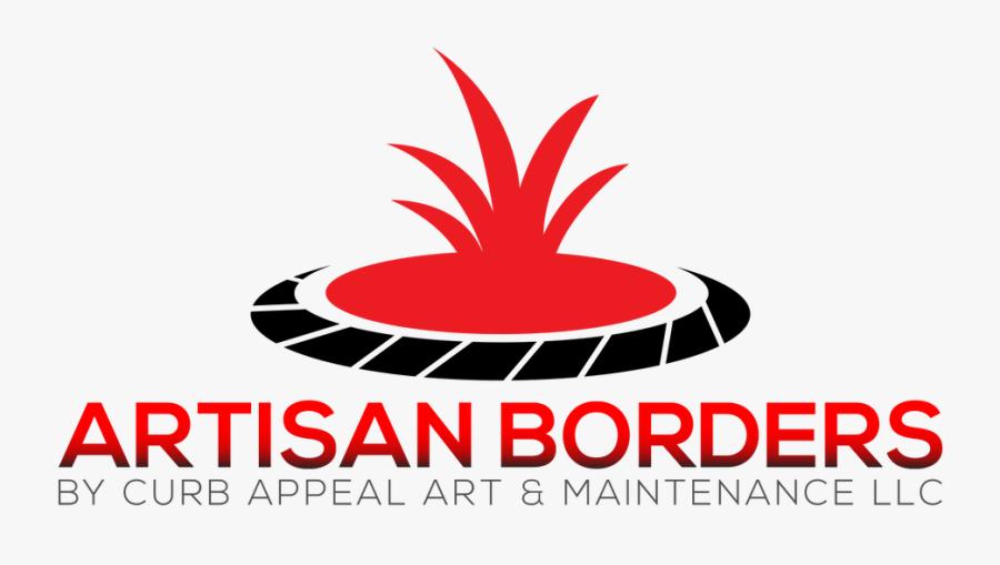Artisan Borders By Curb Appeal Art & Maintenance Llc - Graphic Design, Transparent Clipart