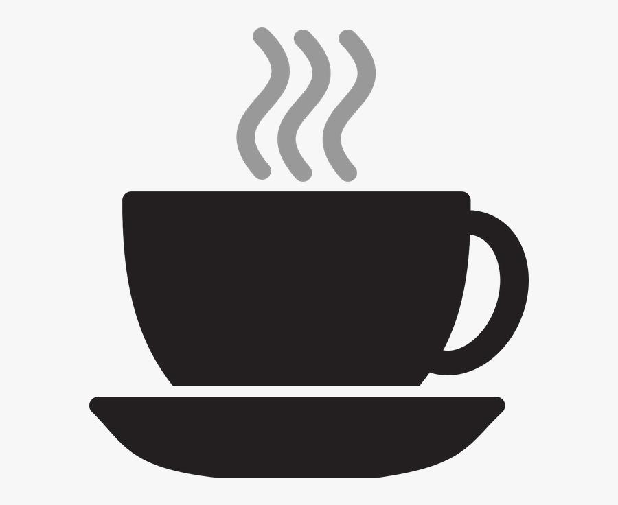 Silueta Cafe Png, Transparent Clipart