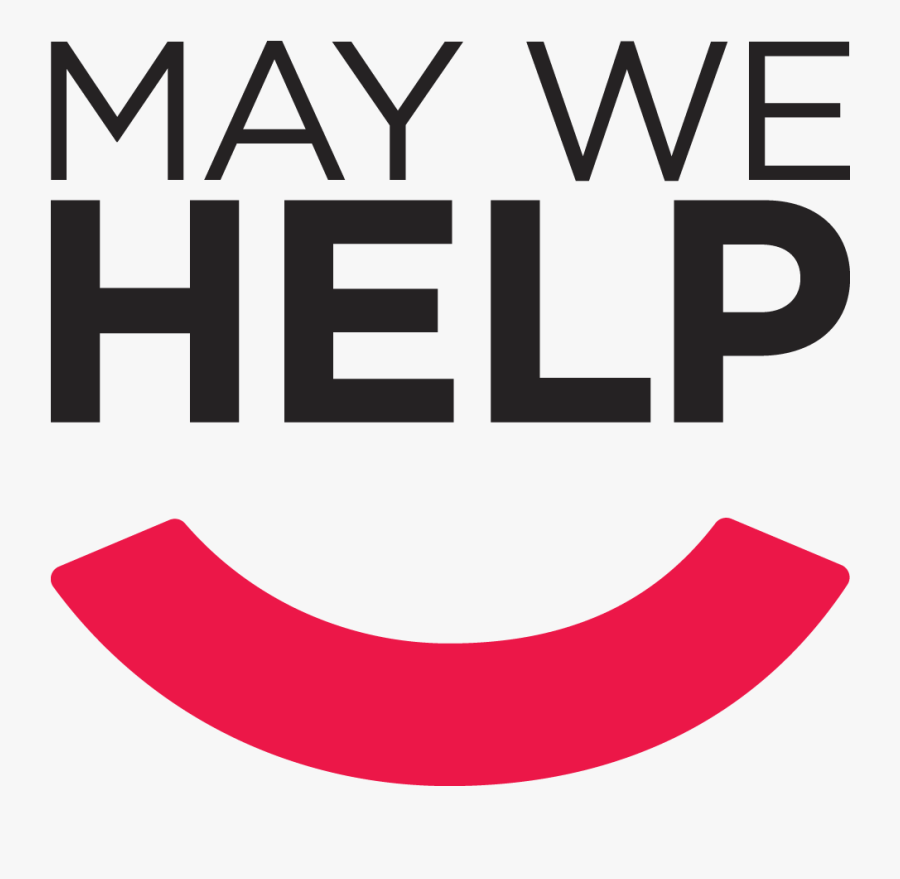 May We Help, Transparent Clipart