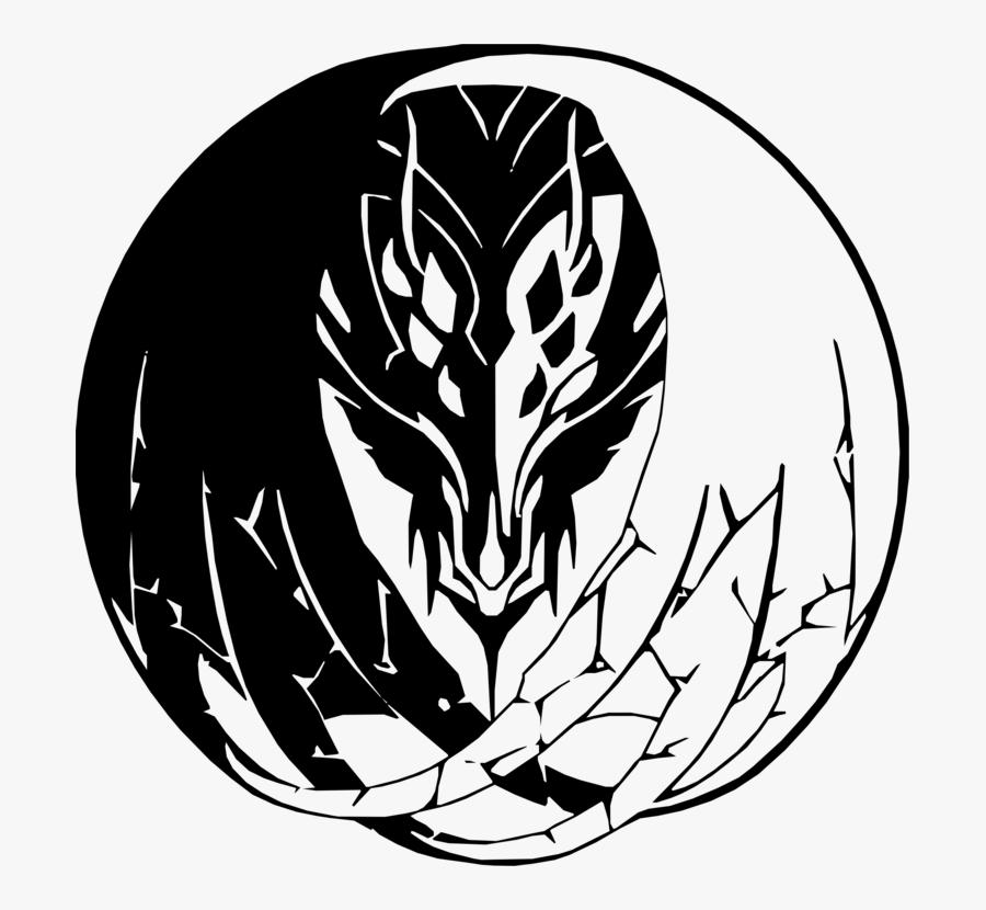 Line Art,plant,flower - Fire Emblem Fates Dragon Symbol, Transparent Clipart