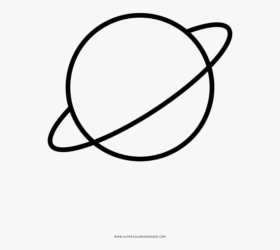 Planet Transprent Png Free - Saturn Planet Transparent Drawing, Transparent Clipart