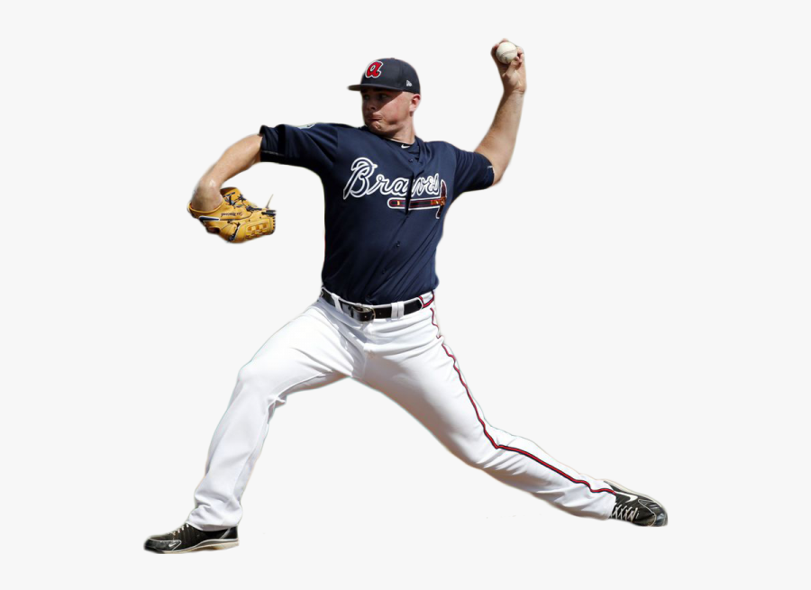 Sean Newcomb Throwing A Ball Png Image - Baseball Player Png Throwing Ball, Transparent Clipart