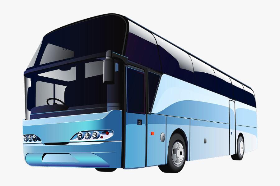 Transit Bus Clip Art - Bus Clipart Png, Transparent Clipart