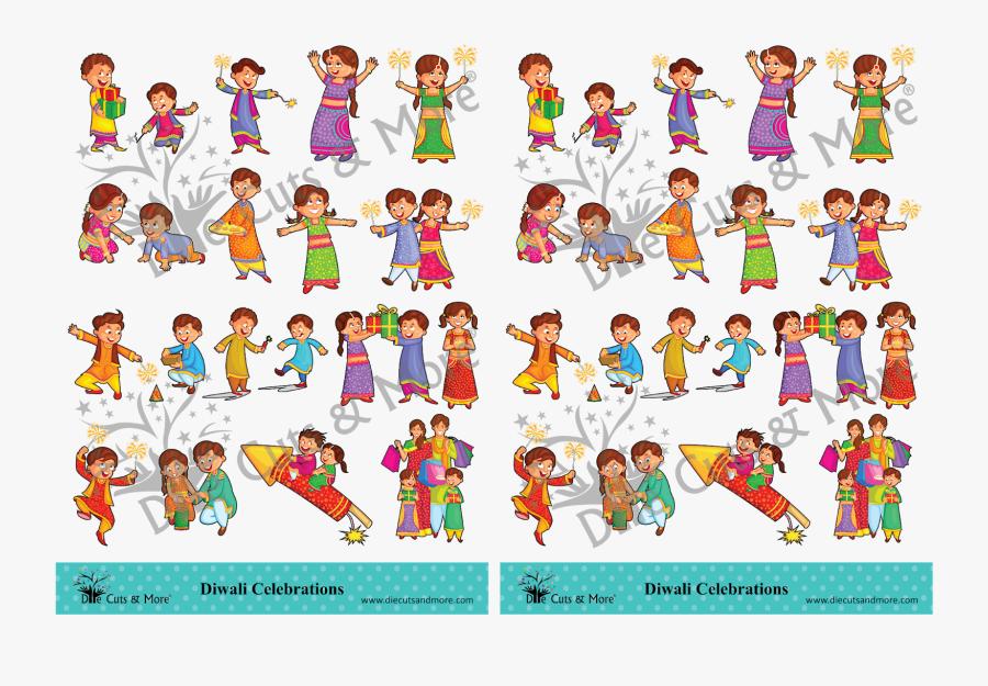 Transparent Little Critter Clipart - Diwali Celebration Clip Art, Transparent Clipart