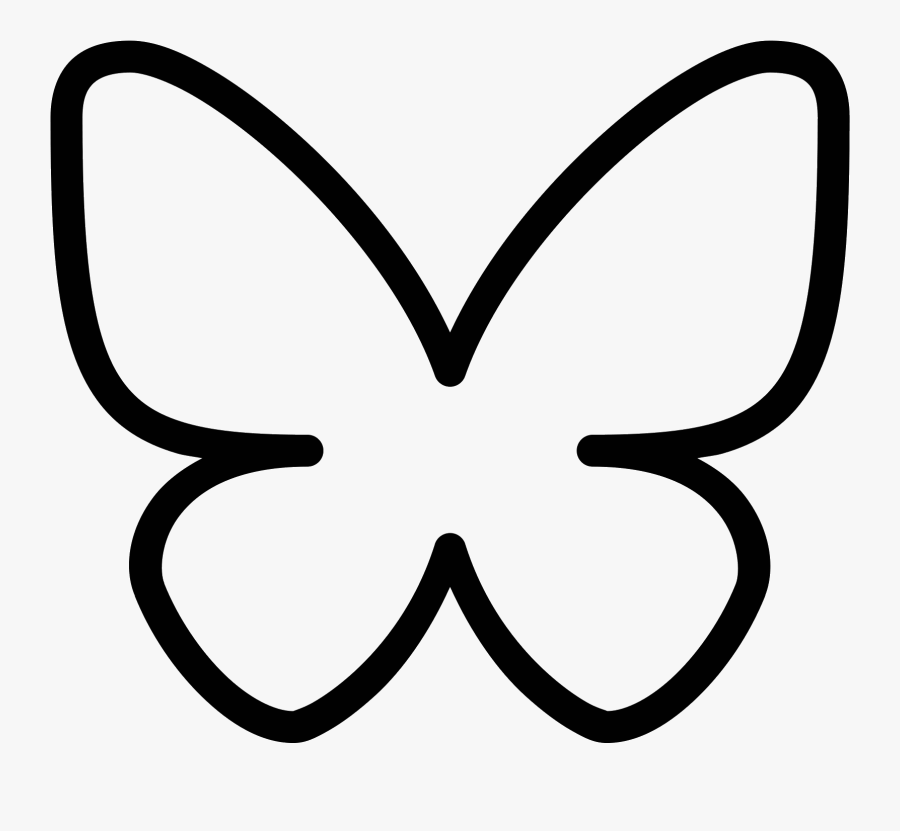 It Is An Insect Called A Butterfly Clipart , Png Download - Butterfly Symbol Png, Transparent Clipart