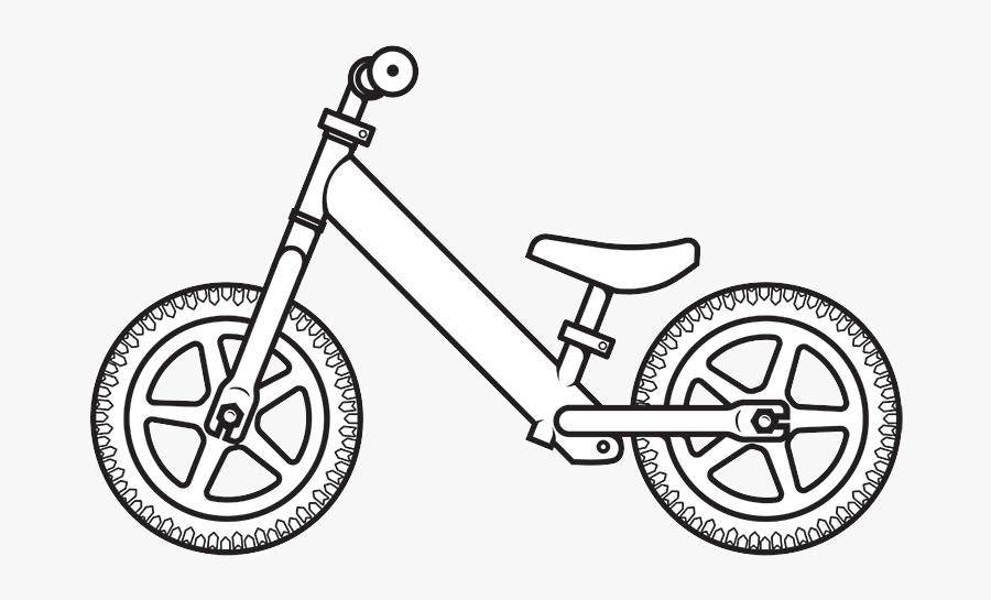 The Strider Balance Bike Inspires Kids To Ride Strider - Strider Bike Coloring Page, Transparent Clipart