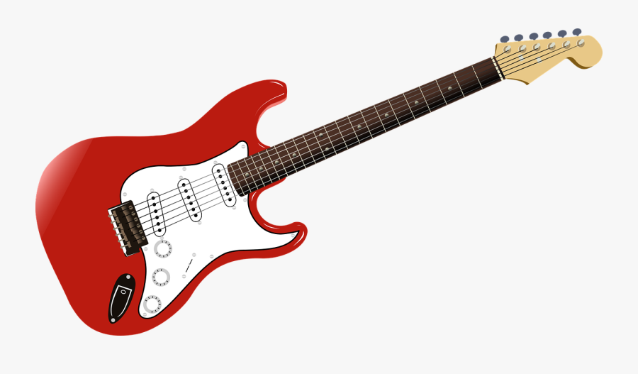 Guitar Music Rock Png Image - Rock Guitar Clip Art, Transparent Clipart