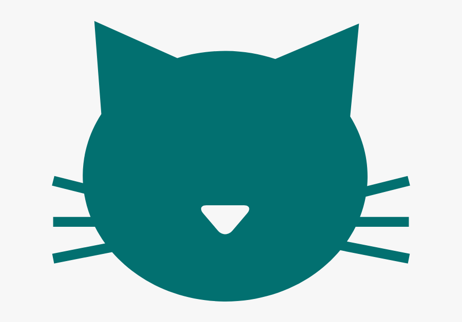 Gary T - - Cat Mascot Pet Silhouette Icon, Transparent Clipart