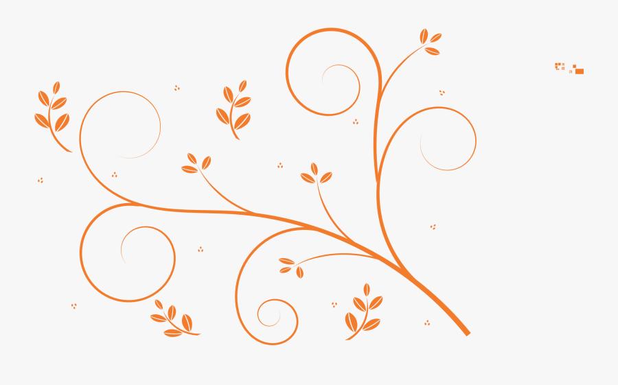 Travel Bag Vector Png Transparent Image - Simple Floral Pattern Png, Transparent Clipart
