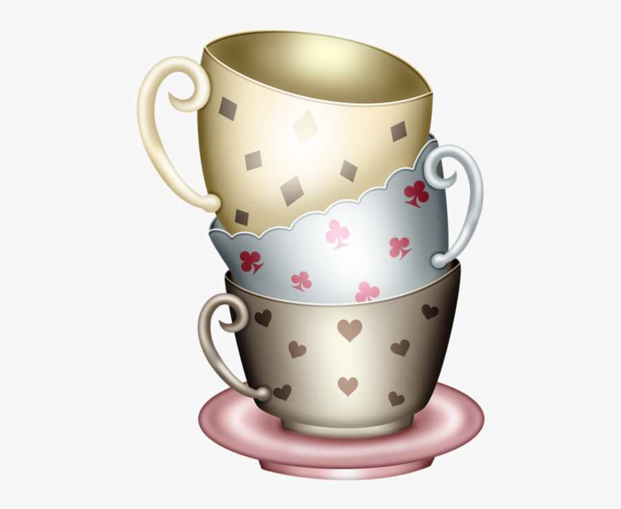 Alice Png, Food Clipart - Tea Cup Party Png, Transparent Clipart
