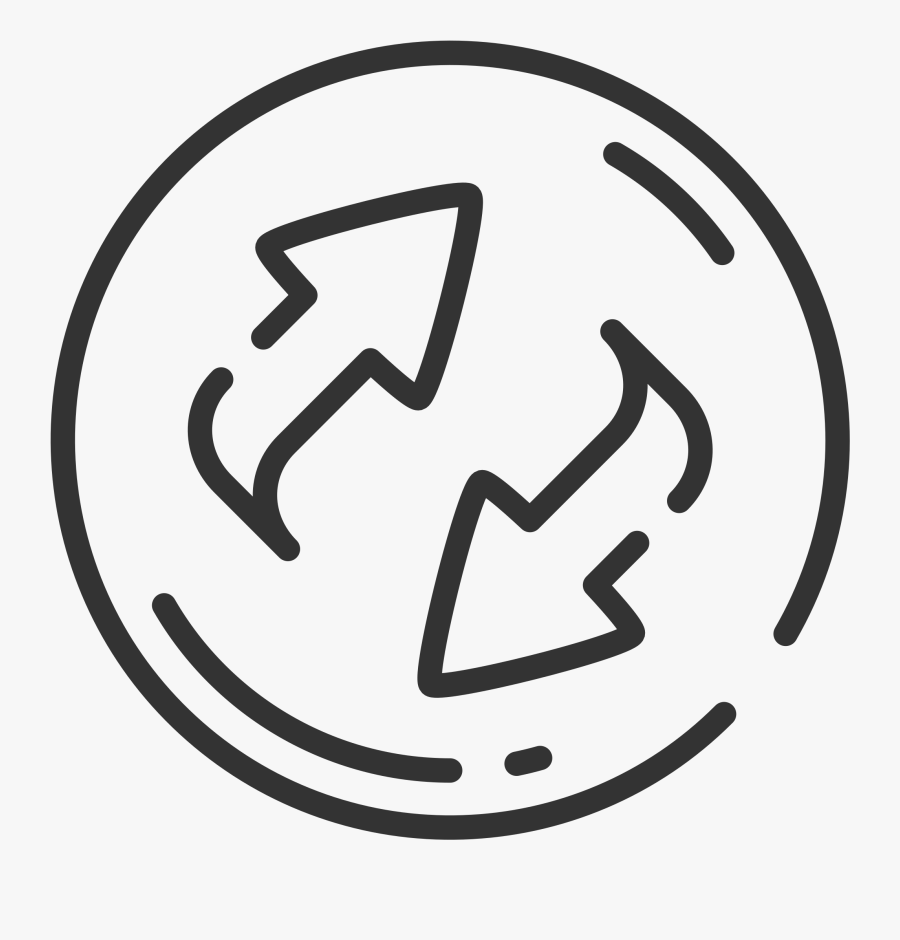 Buttons Clipart Outline - Refresh Png, Transparent Clipart