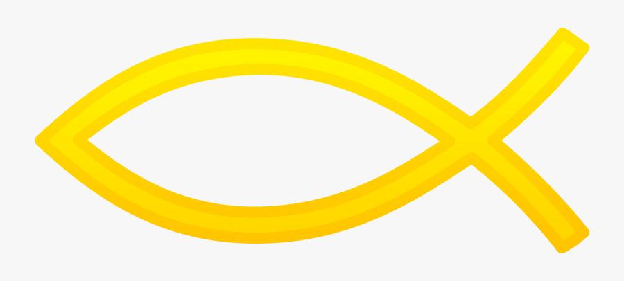 Christian Fish Symbol Png, Transparent Clipart