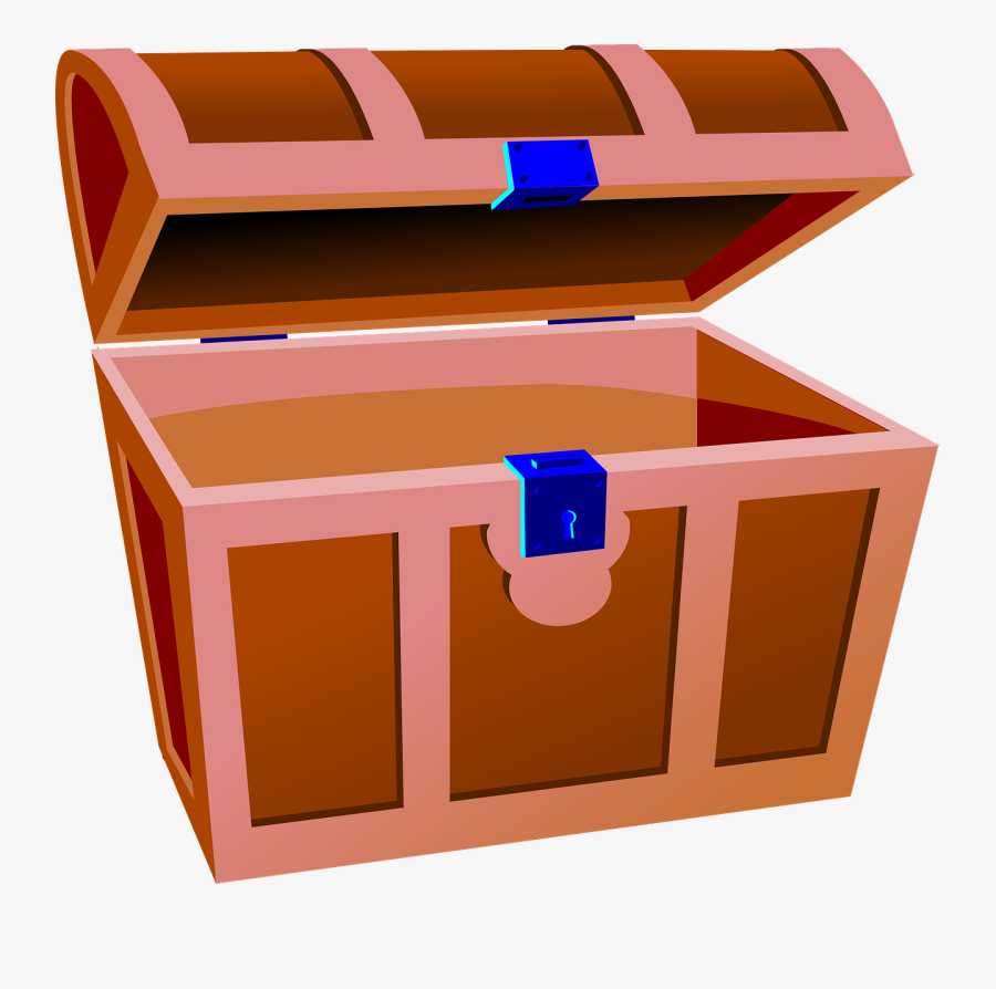 Vector Graphics,free Pictures, Free Photos, Free Images, - Treasure Chest Clip Art, Transparent Clipart