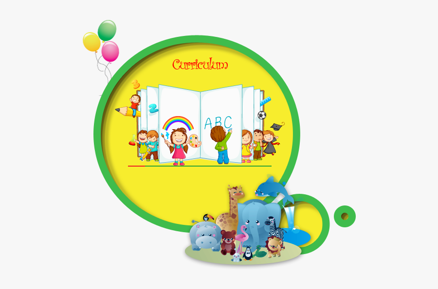 Kindergarten Clipart Circle Time - Preschool English Books, Transparent Clipart