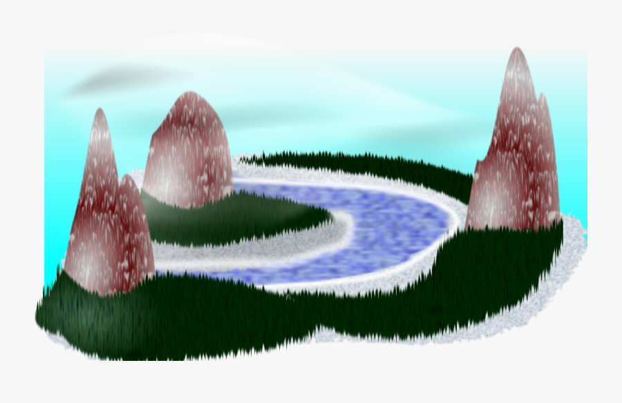Simple Rpg Scenery - Vector Graphics, Transparent Clipart