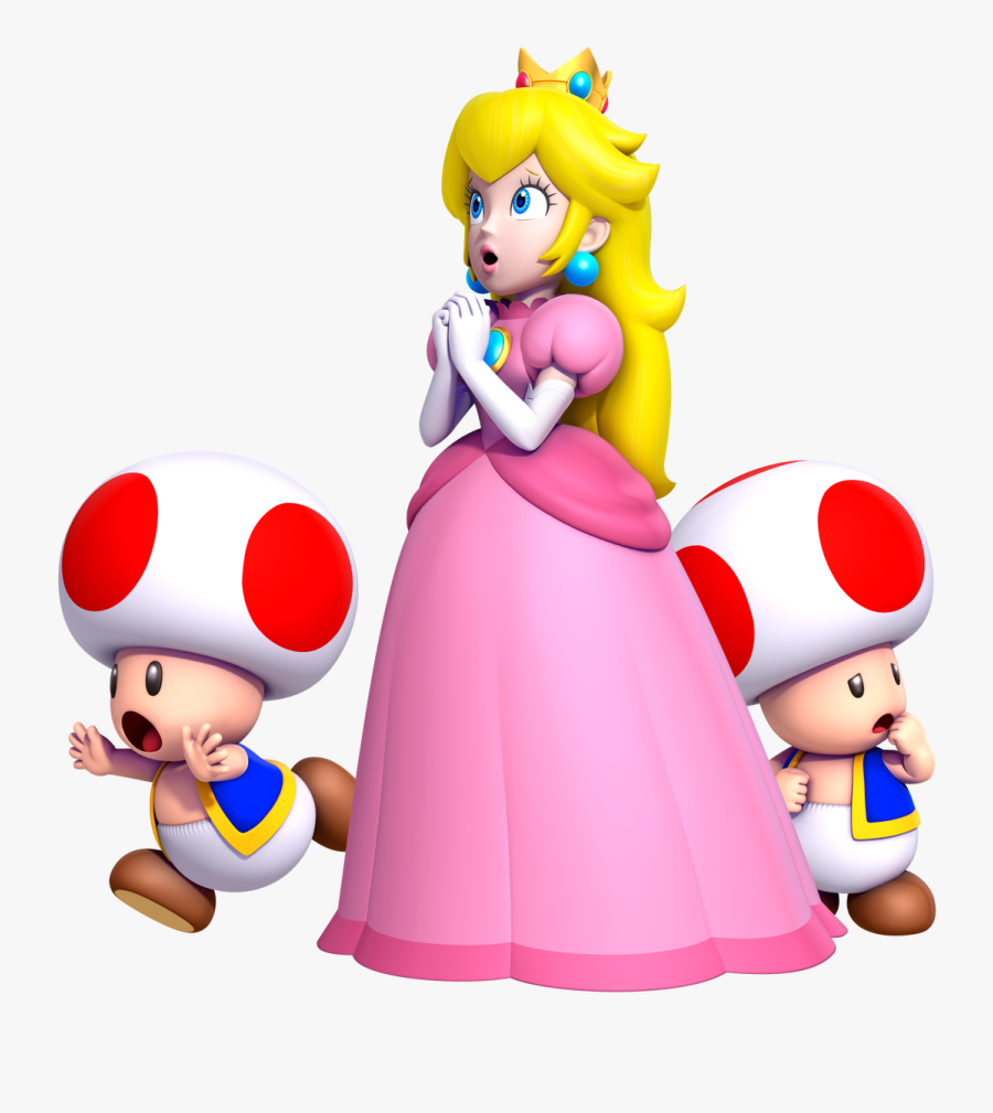 Japan New Super Mario Bros Deluxe Has Impressive Debut - Princess Peach New Super Mario Bros 2, Transparent Clipart