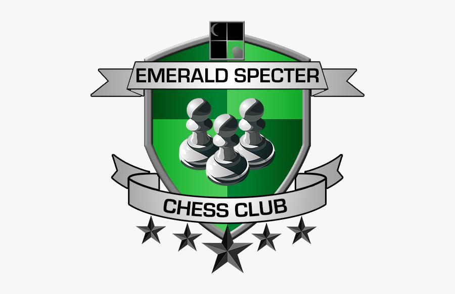 Logo Chess Emblem Transprent - Christmas Tree Glitter Star Garland, Transparent Clipart