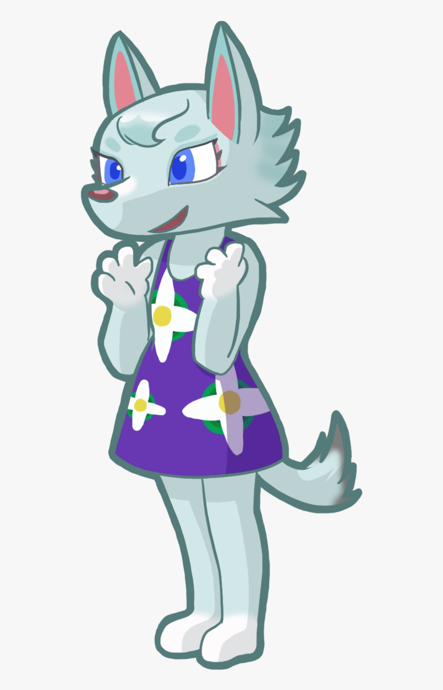 Cat Animal Crossing - Whitney Animal Crossing Fanart, Transparent Clipart