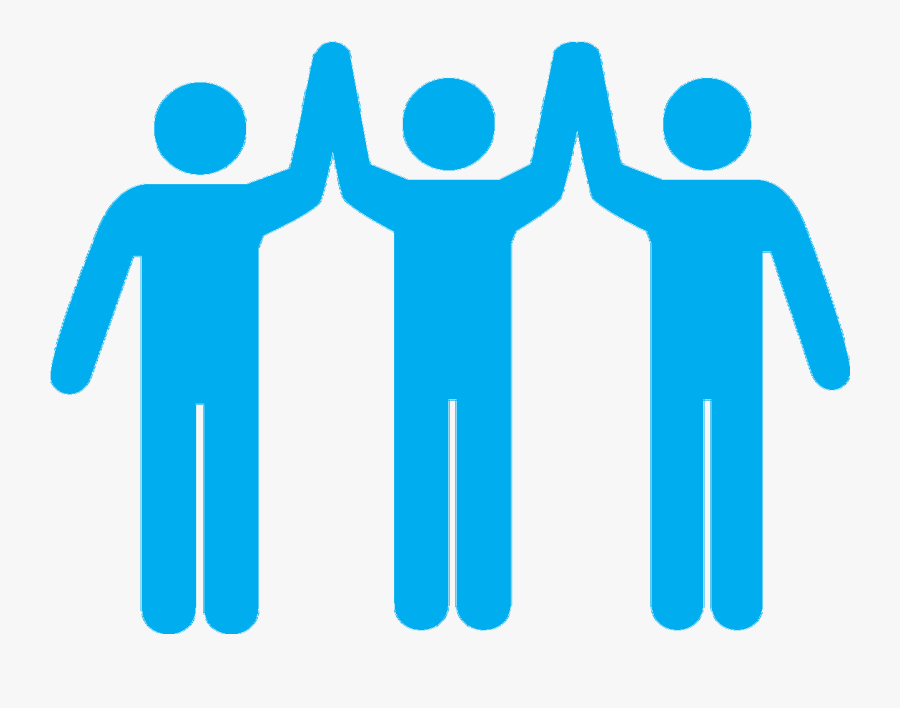 Team Holding Hands - Icon Team Work Png, Transparent Clipart