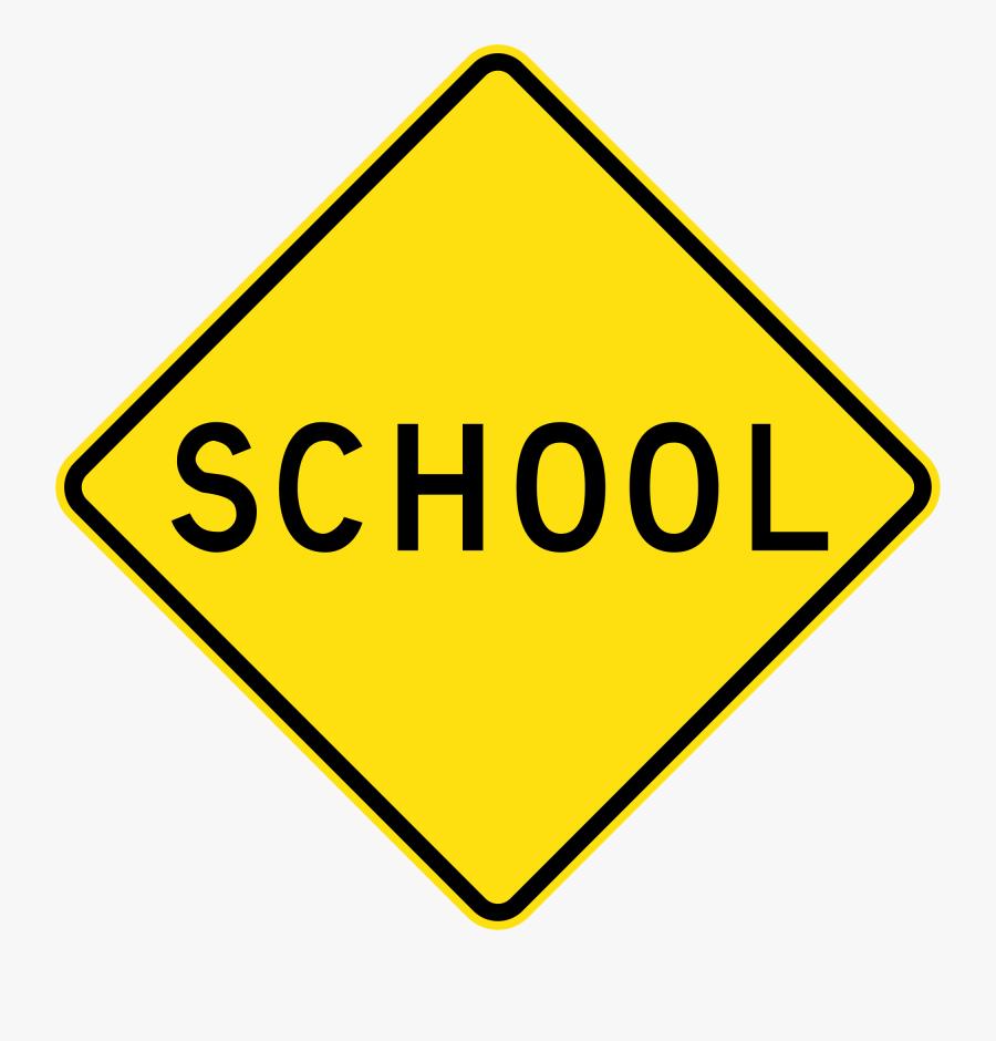 Australia Road Sign W6 - Traffic Sign, Transparent Clipart