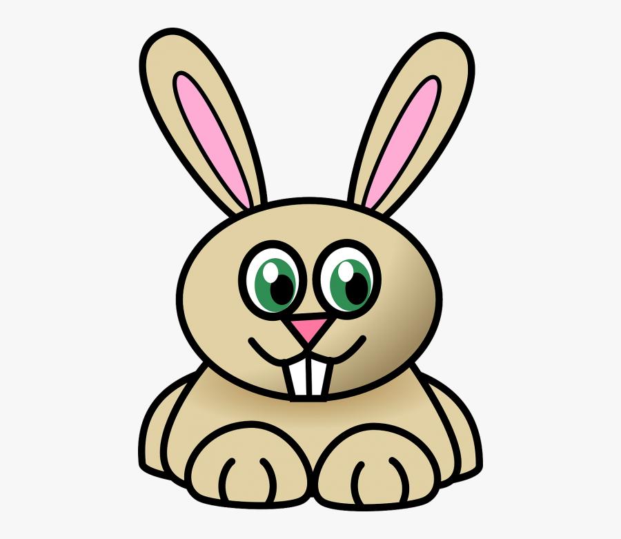 Rabbit Animal Cartoon - Rabbit Clip Art, Transparent Clipart