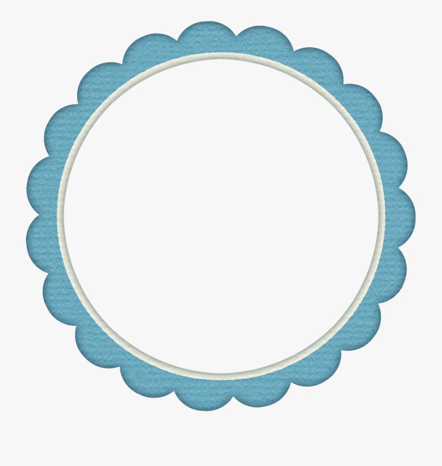 Blue Frame Png - Aladdin And Jasmine Edible Cake, Transparent Clipart