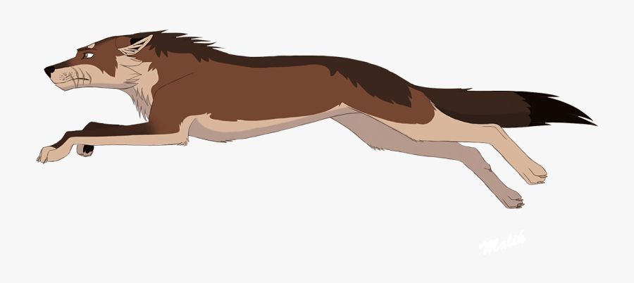 Dog Pack Animation Lion Drawing - Cartoon Wolf Running Drawing, Transparent Clipart
