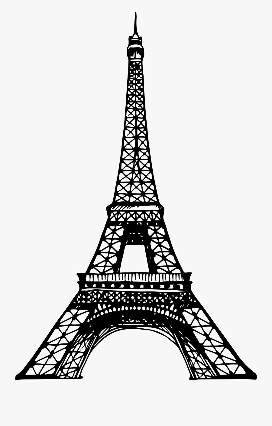 Transparent Radio Tower Clipart - Free Eiffel Tower Clipart, Transparent Clipart