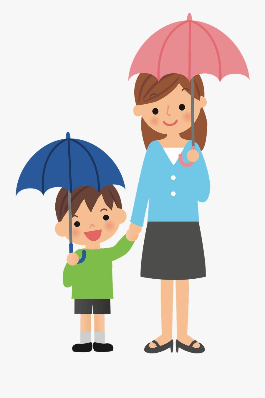 Person With Umbrella Clipart, Transparent Clipart