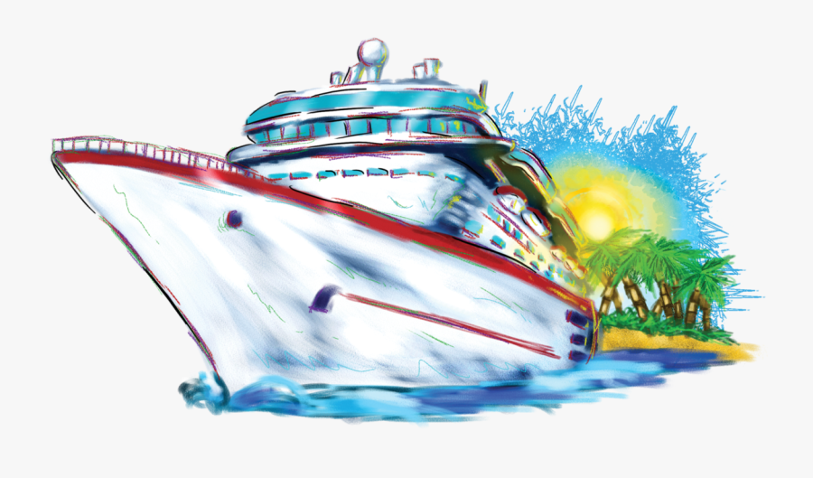 Cruise Vacation Clipart - Cruise Ship Clip Art, Transparent Clipart