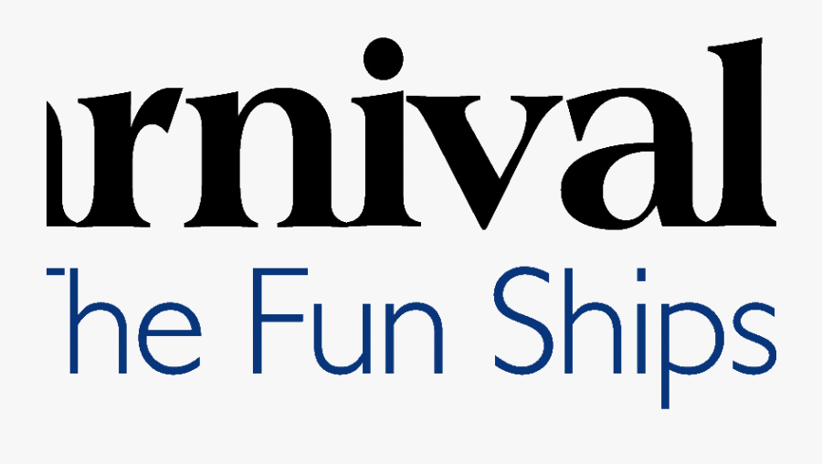Carnival Cruise Logo Clipart , Png Download - Carnival Cruise Lines, Transparent Clipart