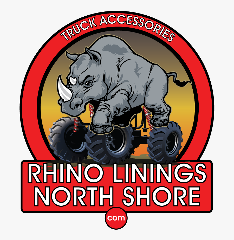 Rhino Linings North Shore - Poster, Transparent Clipart