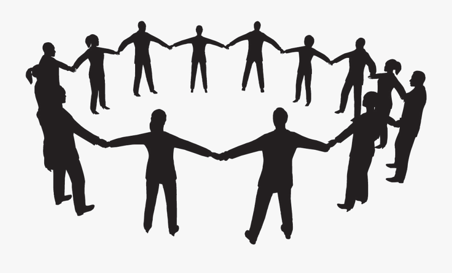 Clipart Freeuse Library Clipart Group Of People - People Helping Each Other Clipart, Transparent Clipart