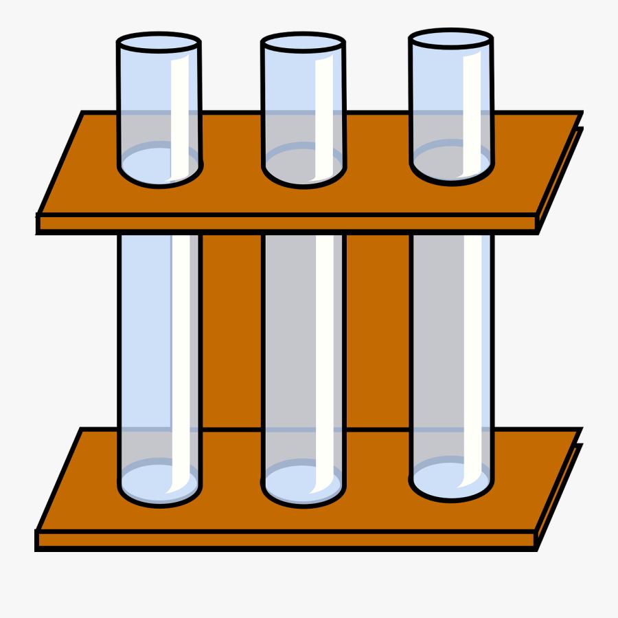 Tube Lab Chemistry Free Photo - Test Tube Holder Clipart, Transparent Clipart